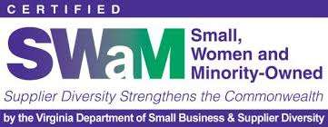 Stamp certifying small, women and minority-owned